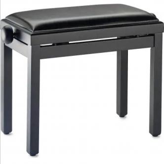 Maene Piano bench Satin Black Vinyl