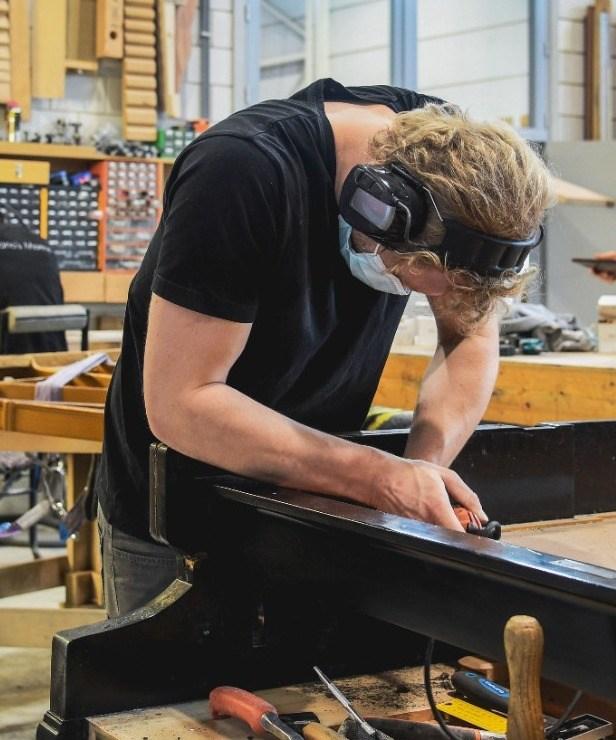 Atelier Chris Maene - pianorenovatie