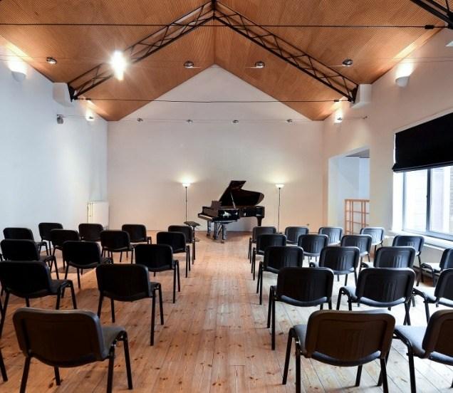 piano concertzaal Brussel