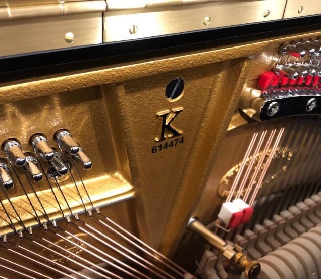Serienummer piano