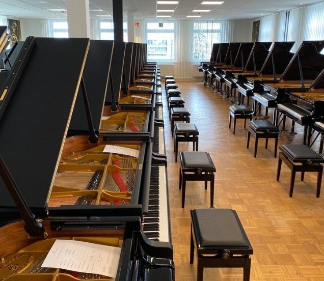 Steinway & Sons sélection Hambourg
