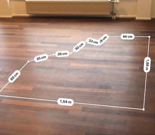 Digitaal de ruimte meten