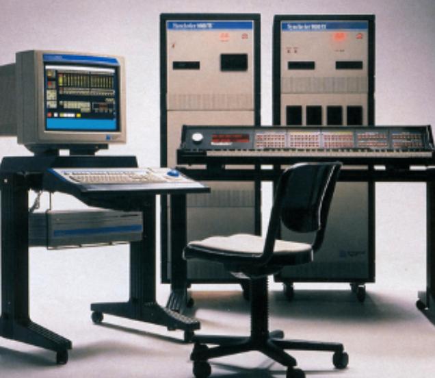 De eerste op computer gebaseerde elektronische klavieren, zoals de Synclavier