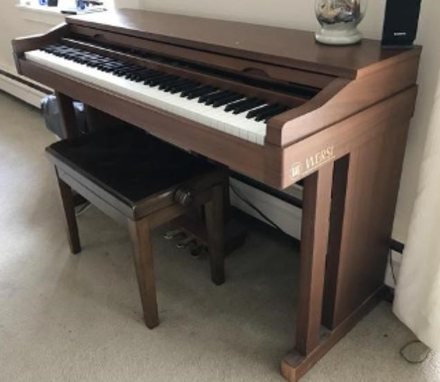 De Wersi D-Art technologie was baanbrekend in 1992 en legde een wereldwijde standaard in piano-sampling en datacompressie