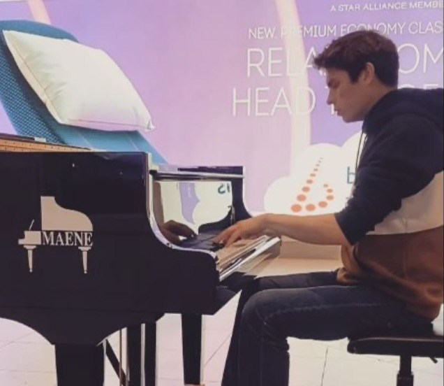 Piano Maene Luchthaven
