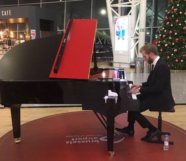 Piano luchthaven Zaventem Maene