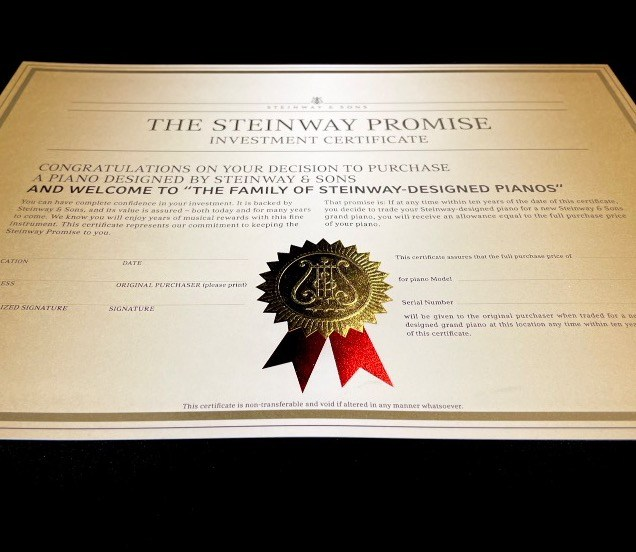 Steinway & Sons Promise