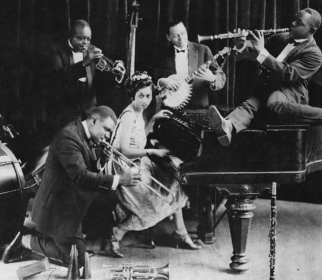 Big band orkest in de jaren 20