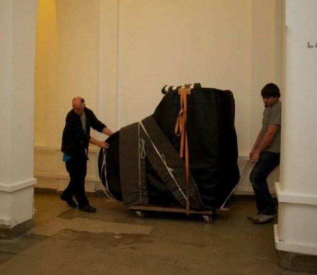 Transport du piano concours reine elisabeth