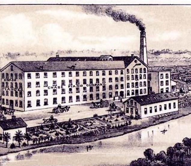 Oude pianofabriek