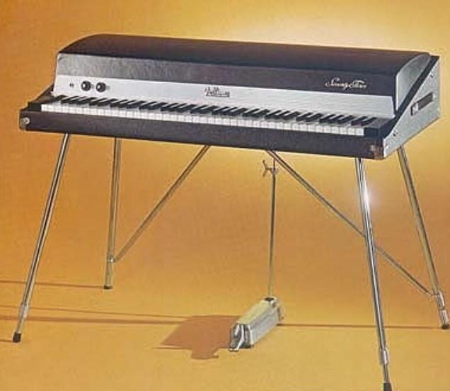 De Fender-Rhodes elektrische piano