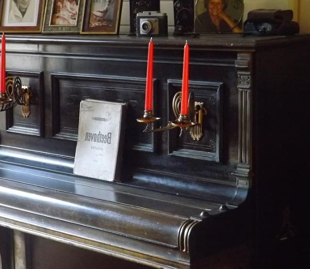 Oude piano