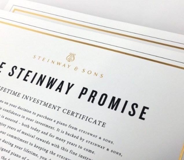 Steinway Promise