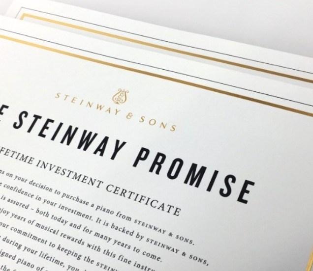 Promesse Steinway
